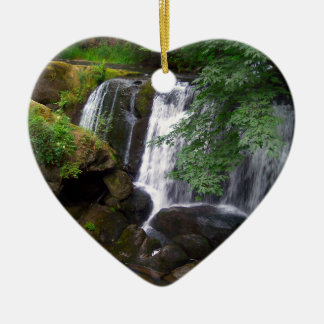 Whatcom Falls Ceramic Ornament