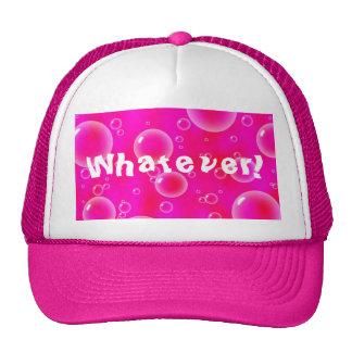 Whatever Bubbles Hat