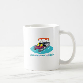 Whatever Floats Mug for Pontoon Boat Owners