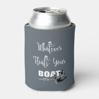 Whatever Floats Your Boat Funny Text Slogan