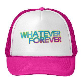 Whatever forever mesh hat