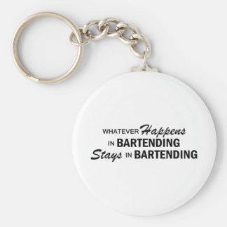 Whatever Happens - Bartending Key Ring