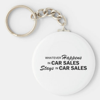 Whatever Happens - Car Sales Keychains