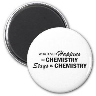 Whatever Happens - Chemistry 6 Cm Round Magnet