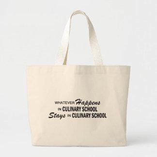 Whatever Happens - Culinary School Jumbo Tote Bag