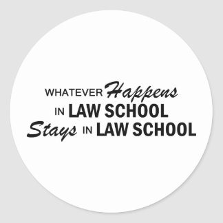 Whatever Happens - Law School Sticker