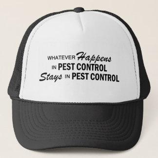 Whatever Happens - Pest Control Trucker Hat