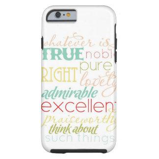 "whatever is true iPhone 6 case- ""retro kitchen"" Tough iPhone 6 Case"