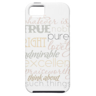 Whatever is True iPhone case