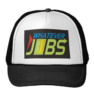 WhatEver Jobs Hats
