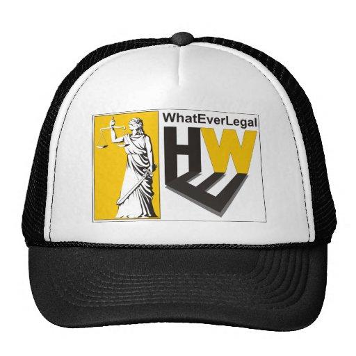 WhatEver Legal Mesh Hats