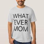 whatever mum tshirt