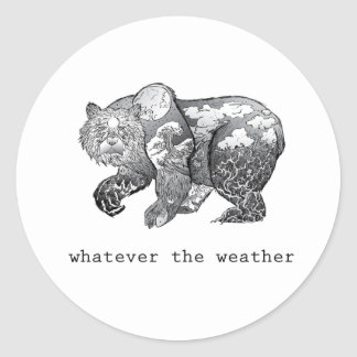 whatever the weather sticker