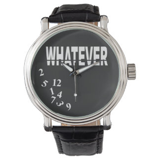 Whatever | white black watch
