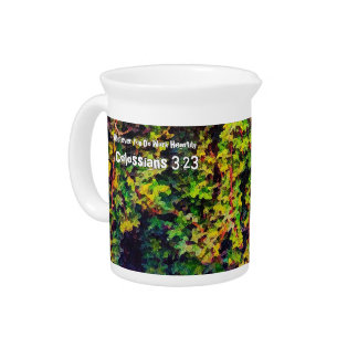Whatever You Do Work Heartily Colossians 3 23 Pitcher