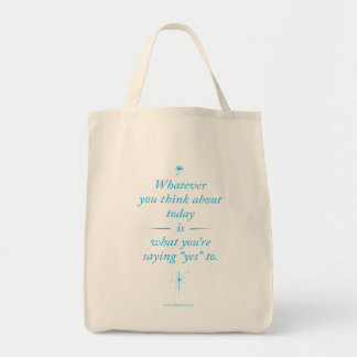 Whatever you think about (CYAN) Bags