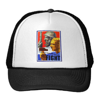 Whatever Your May Be Fight Trucker Hat