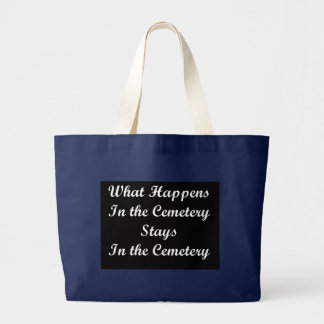 WhatHappens Large Tote Bag