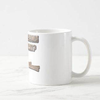 What's Brown and Sticky Joke Coffee Mug