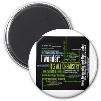 What's chemistry got to do with it? fridge magnet