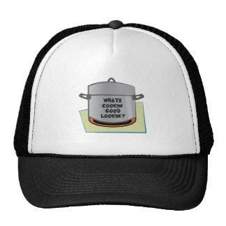 Whats Cookin Good Lookin Trucker Hats