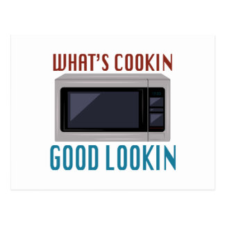 Whats Cookin Postcard