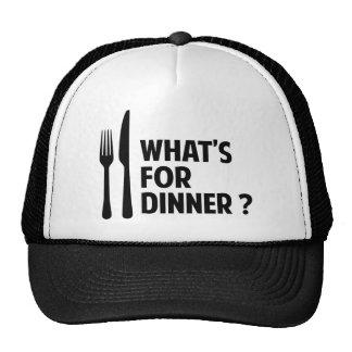 What's For Dinner Trucker Hats
