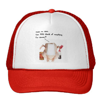 WHATS FOR DINNER RAW CHICKEN - MEN FUNNY COOK GIFT CAP