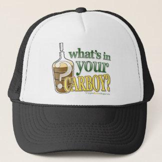 What's In Your Carboy Slogan Trucker Hat