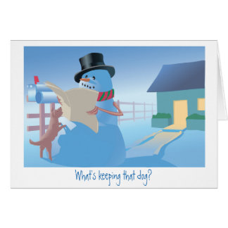 What's Keeping that Dog? Card