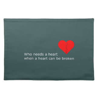 What's love got to do with it placemat