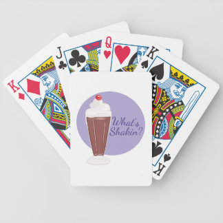 Whats Shakin Bicycle Playing Cards
