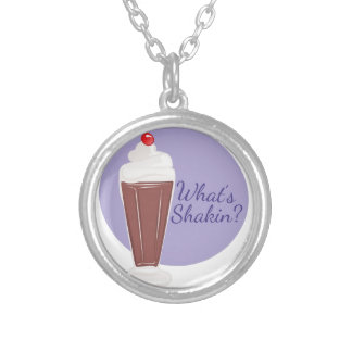 Whats Shakin Silver Plated Necklace