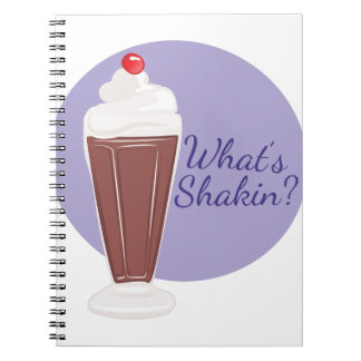 Whats Shakin Spiral Notebook