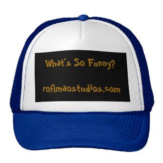 What's So Funny?roflmaostudios.com Cap