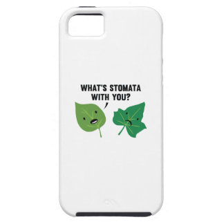 What's Stomata With You? iPhone 5 Cover