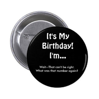 What's That Number Birthday Button