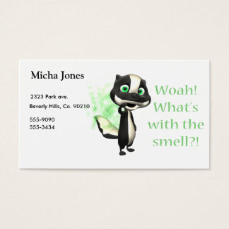 Whats That Smell Skunk Business Card