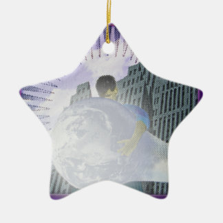 Whats The Big Idea  by TEO Ceramic Star Decoration