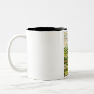 Whats there to write about in perry county Two-Tone coffee mug
