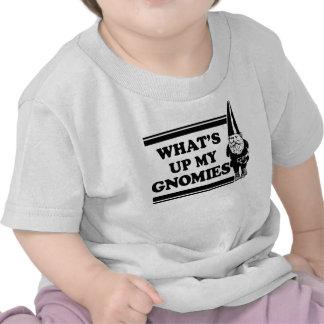 What's Up My Gnomies Shirt