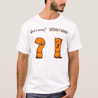What's Wrong? [Orange] Shirt