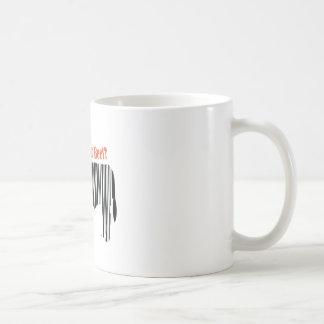 What's Your Beef? Basic White Mug