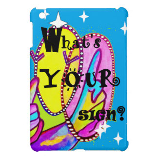 What's Your Sign iPad Mini Covers