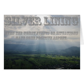 What's Your Silver Lining Card