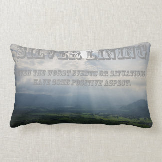What's Your Silver Lining? Throw Cushion