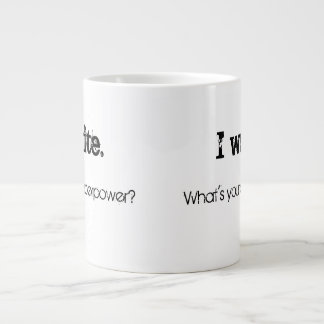 What's your superpower? large coffee mug