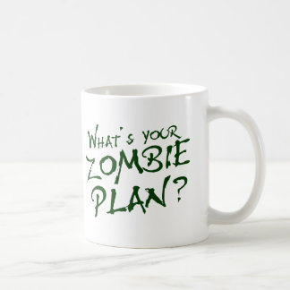 What's Your Zombie Plan? Mug