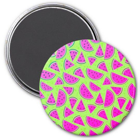Whatta Melon 7.5 Cm Round Magnet