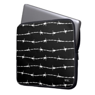 WHC - Barbed Wire Laptop Sleeve